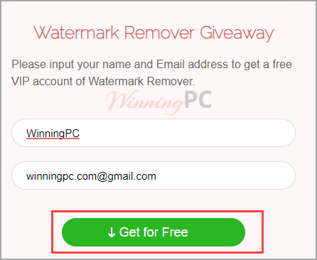 Apowersoft Watermark Remover Registration