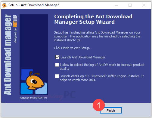 Ant Download Manager Pro License Step 1
