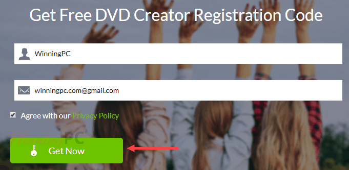 Apeaksoft Dvd Creator Register Page