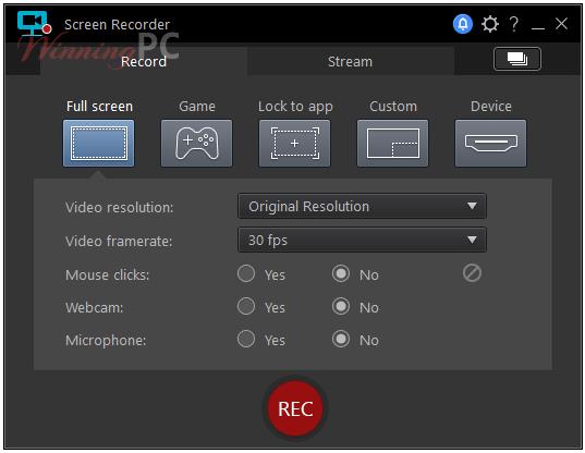 Cyberlink Screen Recorder Screenshot