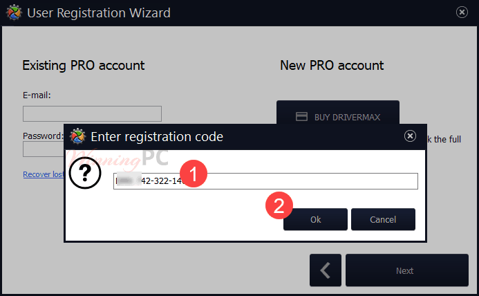 Drivermax Registration
