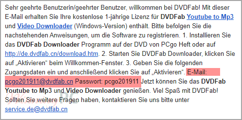 Dvdfab Video Downloader Account Vip