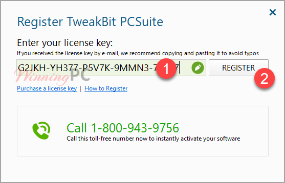 Tweakbit Pcsuite License Key