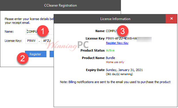 Giveaway: CCleaner Professional Serial Key Free 100% Coupon
