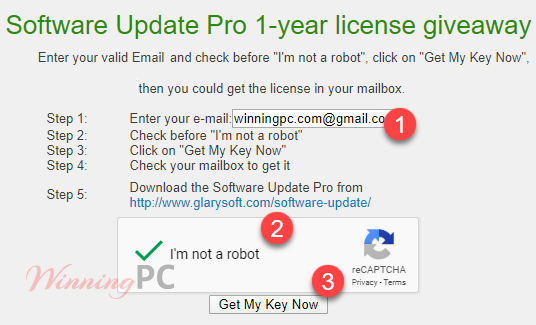 Get Key Glarysoft Software Update Pro