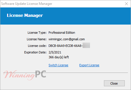 Glarysoft Software Update Pro License