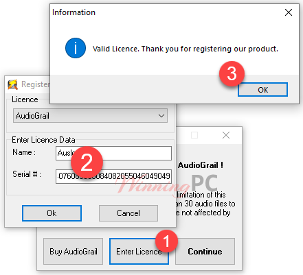 Kc Softwares Audiograil License Key