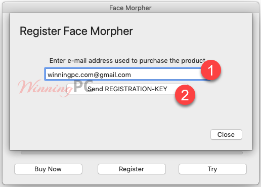 Pcwinsoft Face Morpher Request Key Via Email
