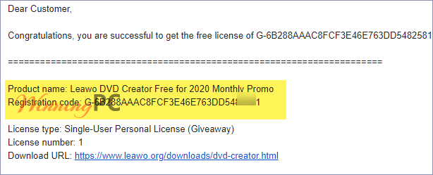 Leawo Dvd Creator License Key