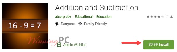 Addition And Subtraction Giveaway