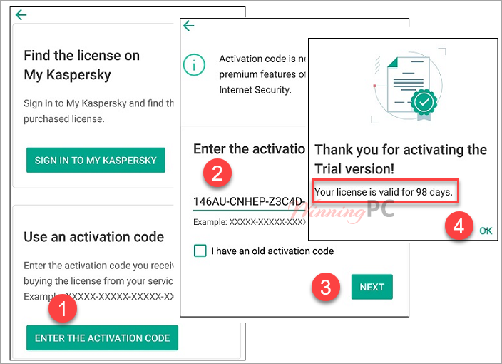 Kaspersky Internet Security Premium for Android Free Key