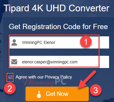 Tipard 4k Uhd Converter Giveaway Page