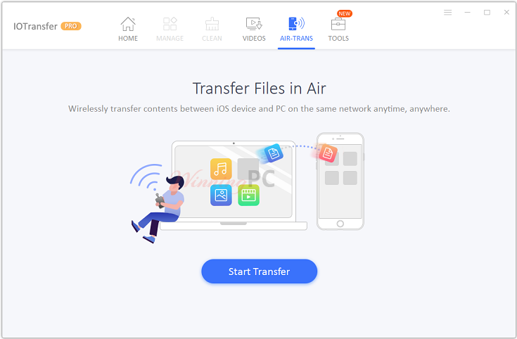 Iotransfer Airtrans Screenshot