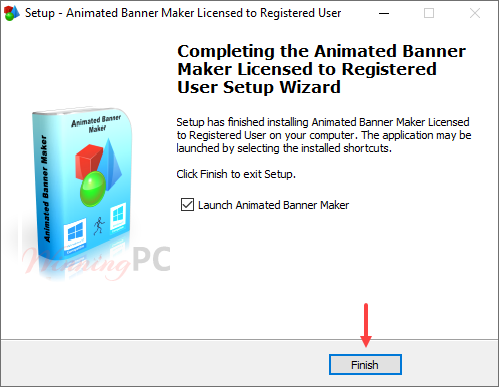 Install Pcwinsoft Animated Banner Maker