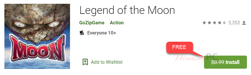 Legend Of The Moon Giveaway