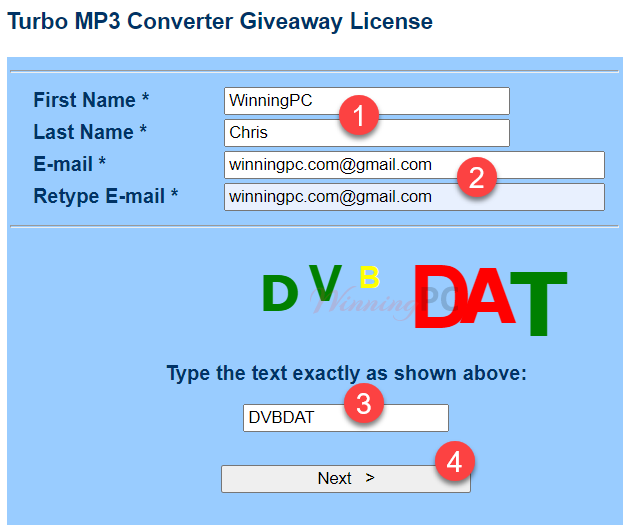 Pcwinsoft Turbo Mp3 Converter Giveaway