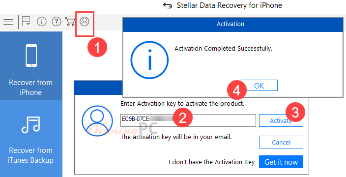 Stellar Data Recovery For Iphone Activation Key