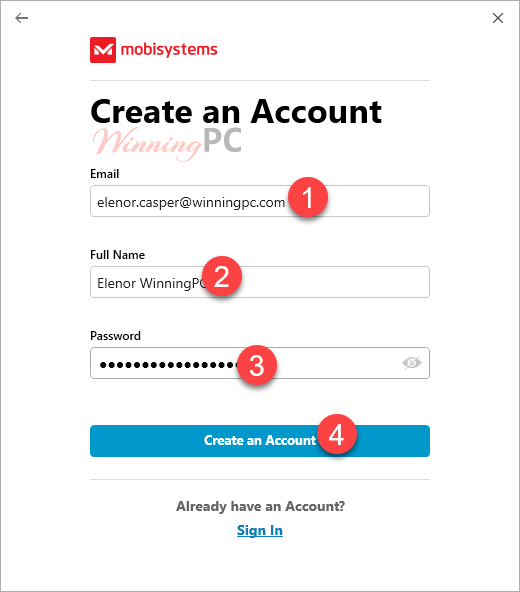 Mobisystems Officesuite Personal Create Account