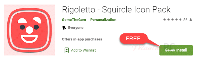 Rigoletto Squircle Icon Pack Giveaway