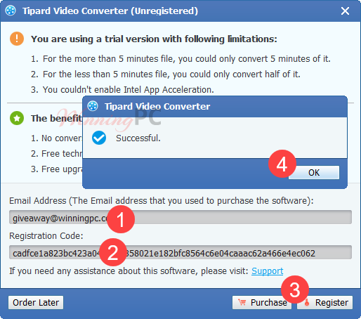 Tipard Video Converter Free Key