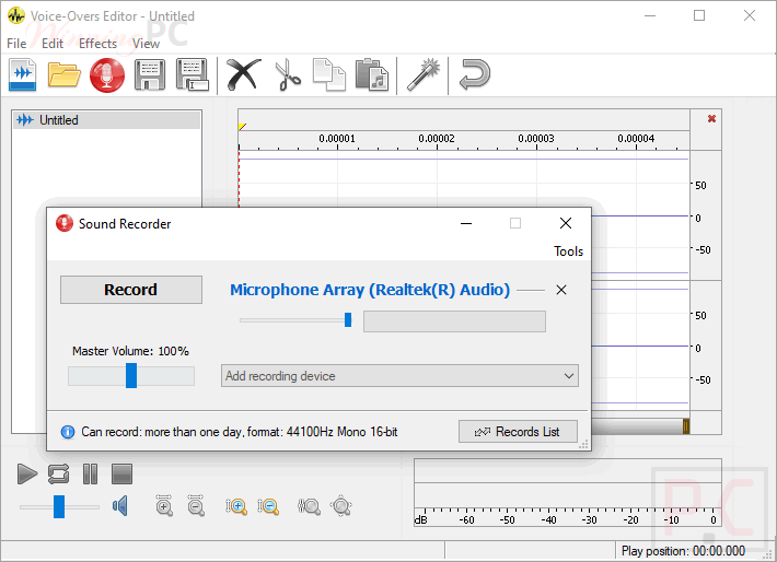 Av Voice Changer Software Diamond Voice Overs Editor