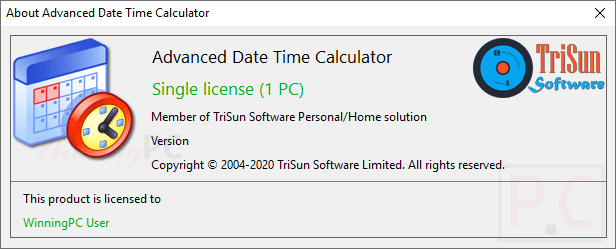 Advanced Date Time Calculator Giveaway