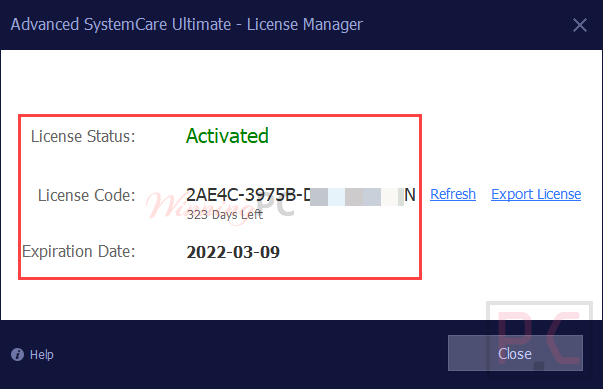 Advanced Systemcare Ultimate 14 License Code Free