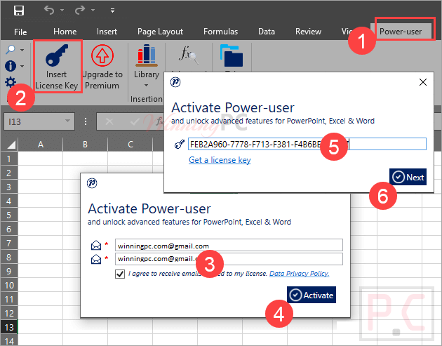 Power User Add In License Code Free